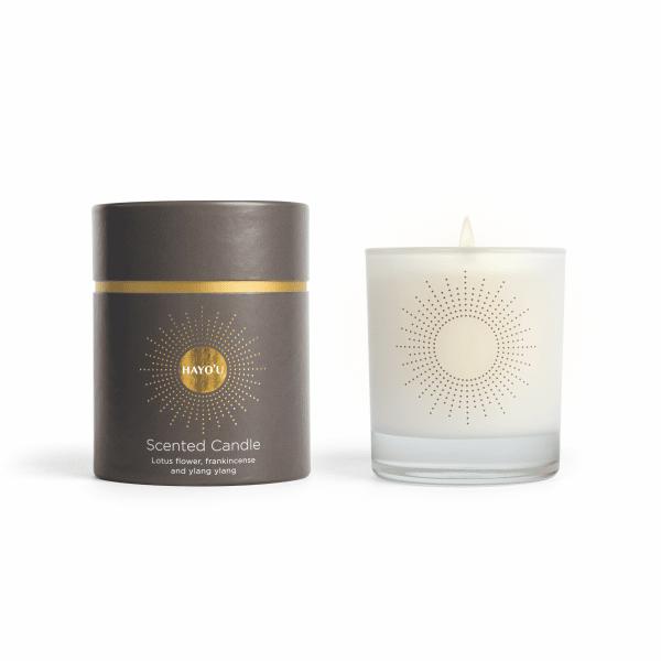 Hayo'u scented candle